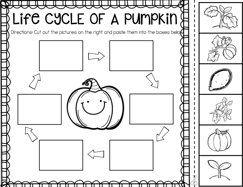 Pumpkin Activities First Grade Pumpkin Time Ship Shape