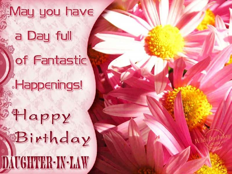 Happy Birthday Wishes Daughter In Law ~ Happy birthday daughter in law quotes. quotesgram birthday cards