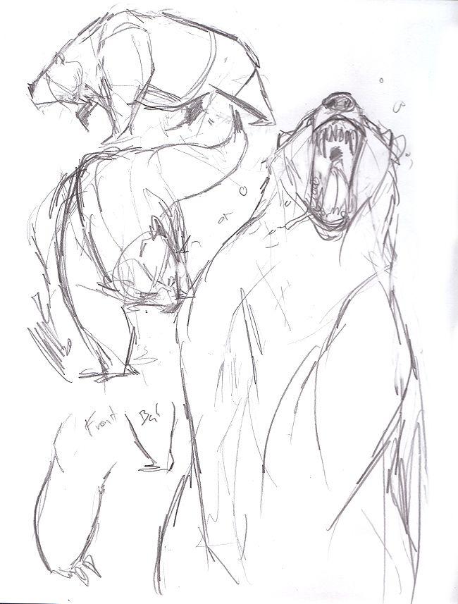 Animal - Grizzly bear by wynahiros on deviantART | anatomy: great ...
