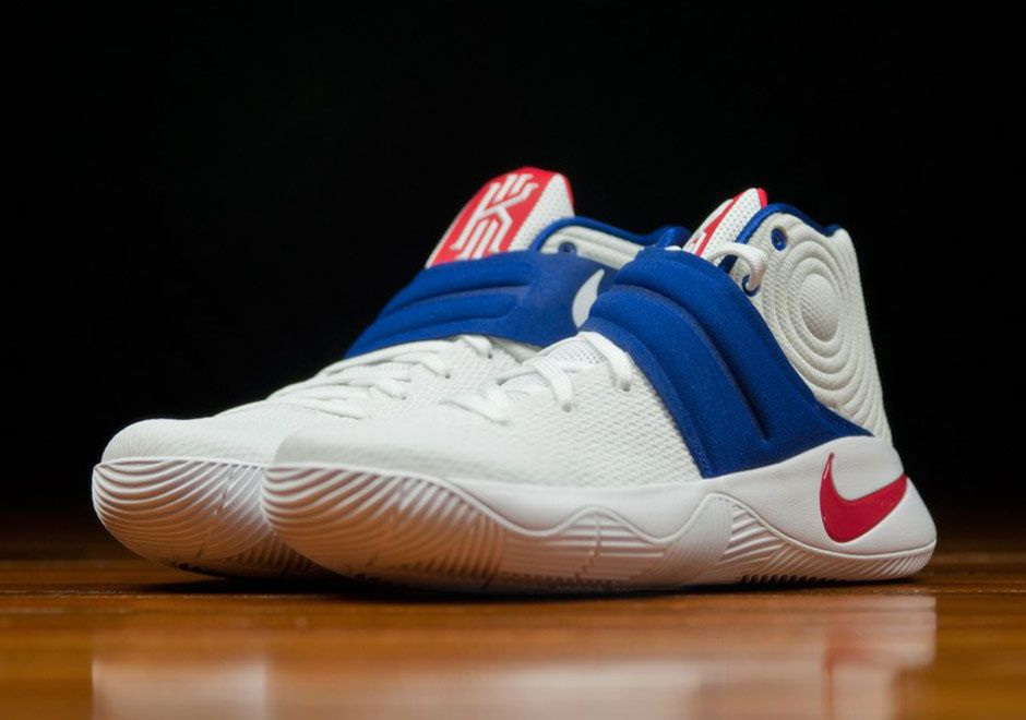 size 40 0744c 7e2ce Nike Kyrie 2 4th of July New Look 819583-164 | What's ...
