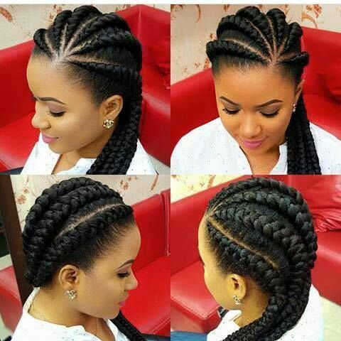 Afficher L Image D Origine Big Cornrows Hairstyles Braids Hairstyles Pictures Natural Hair Styles