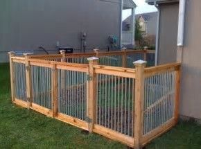 Image result for DIY Cheap Dog Fence Ideas   Diy dog fence ...