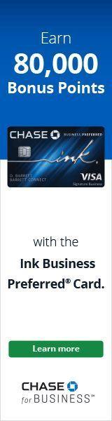 credit cards banner Ink Business Preferred Credit Card  Banner