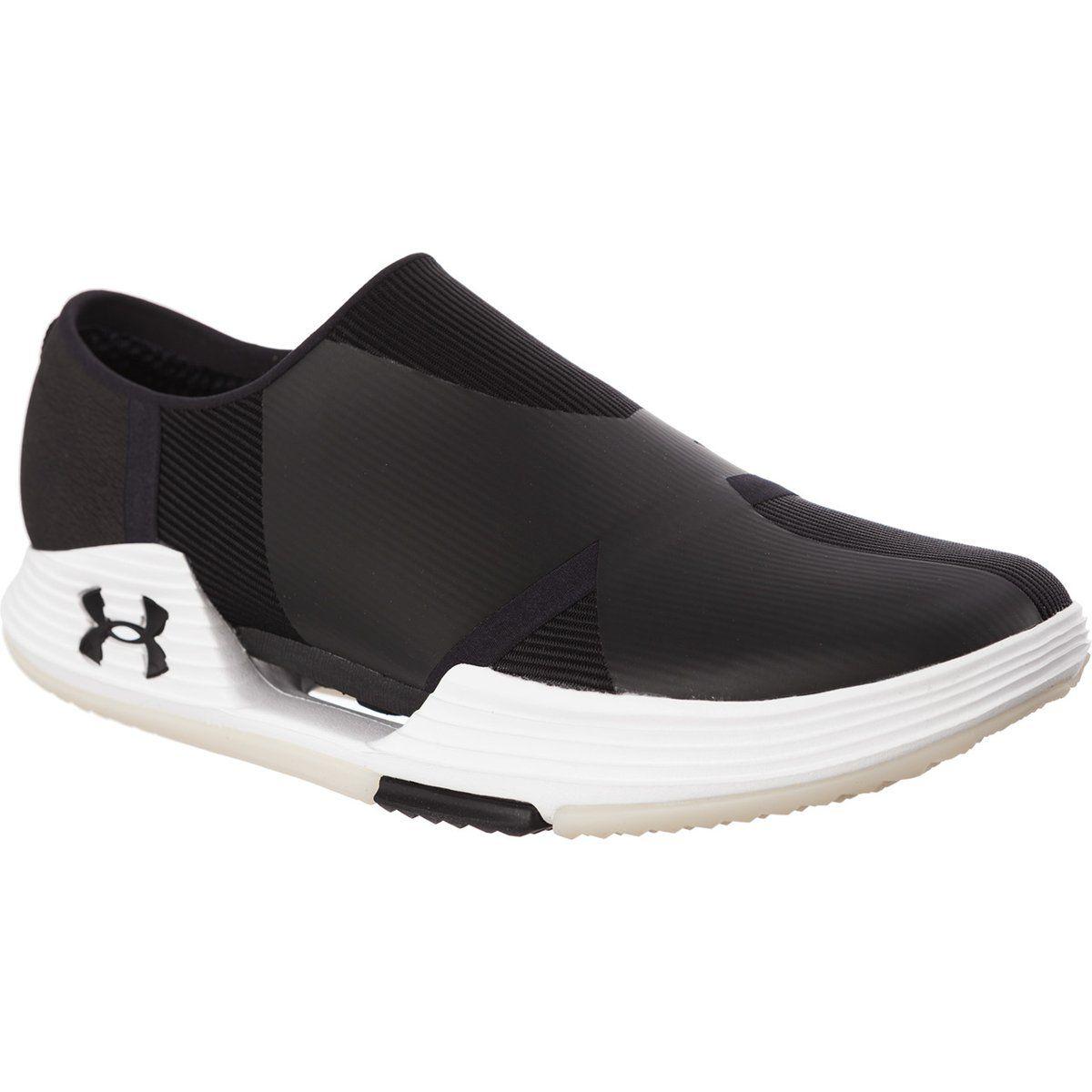 Sportowe Damskie Underarmour Under Armour Czarne Speedform Amp 2 0 Slip 001 Black Under Armour Slip On Sneaker Shoes