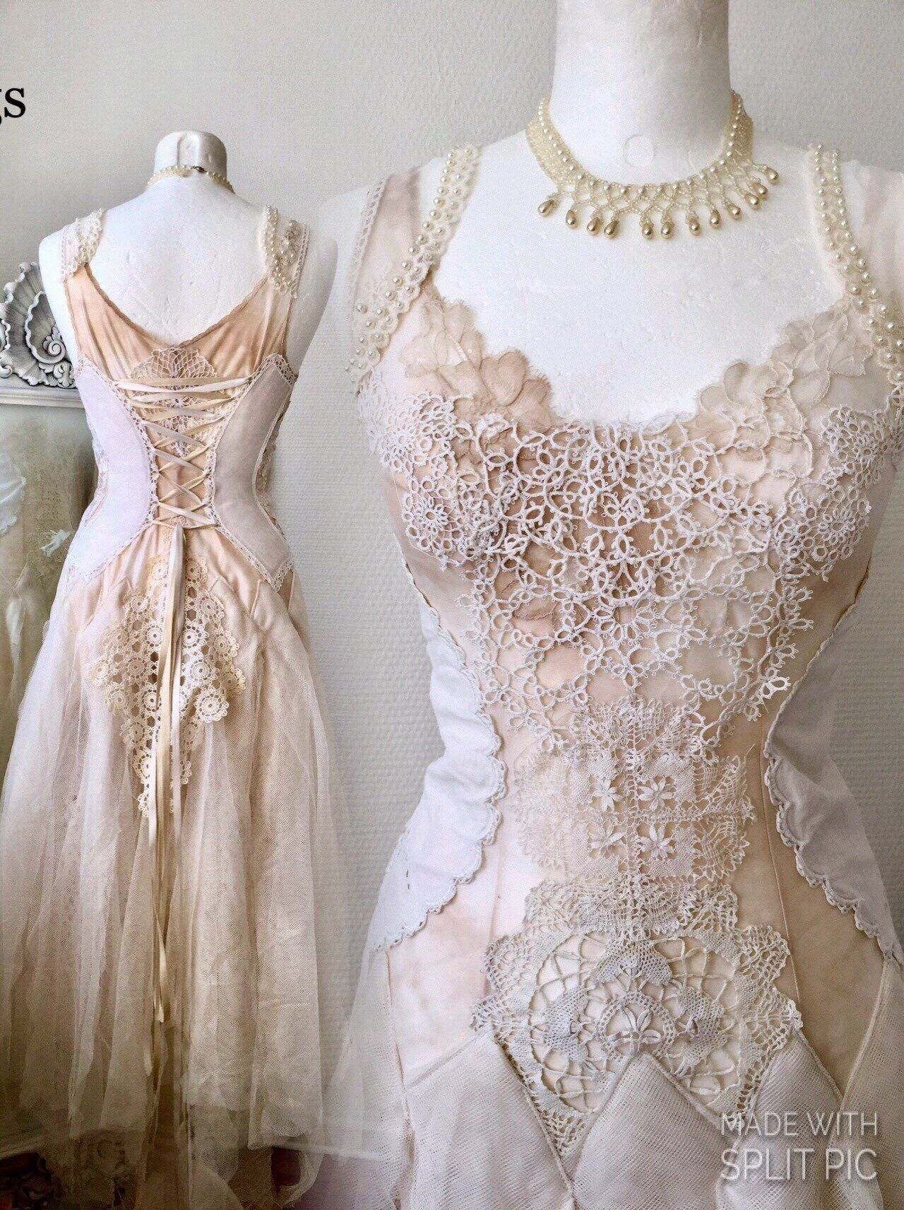 Excited to share this item from my etsy shop boho wedding dress