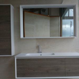 Mobile bagno sospeso doppio lavabo integrato Tulle Archeda   Bagno ...