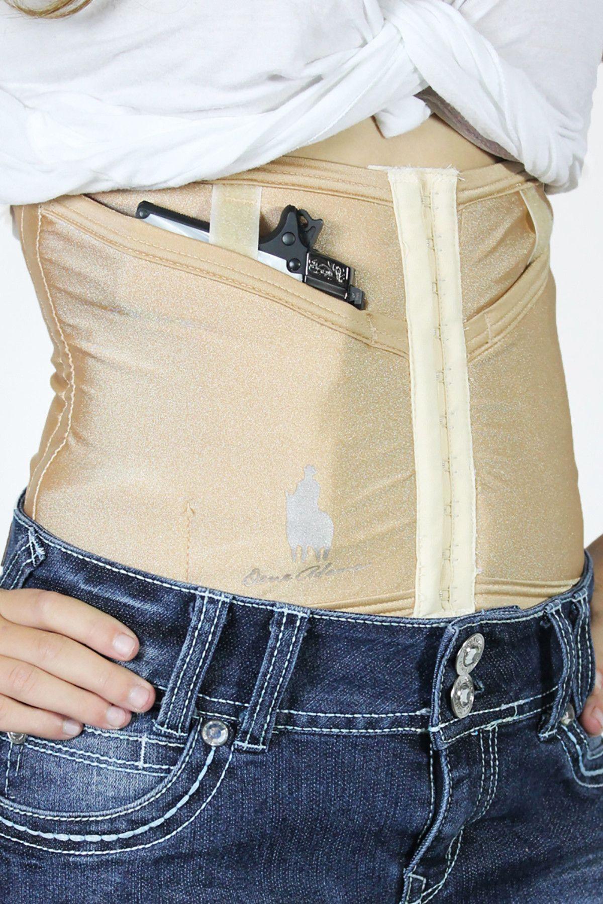 Dene Adams Corset Holster Natural Concealed Carry
