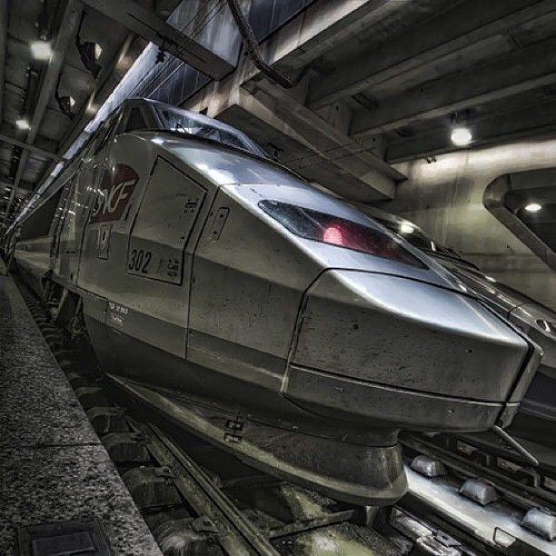 #train #tgv #paris #france #railroad - @judaslefelon- #webstagram