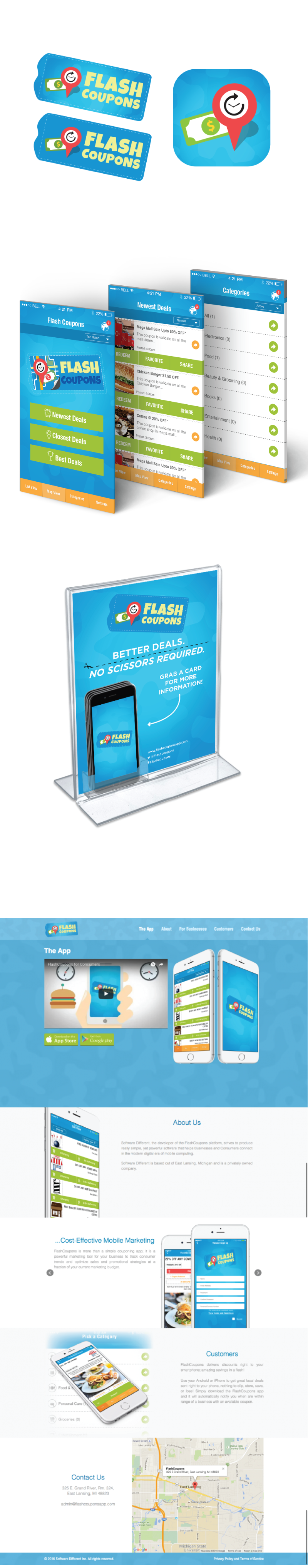 Check out the work we did for the new Flash Coupons #app!