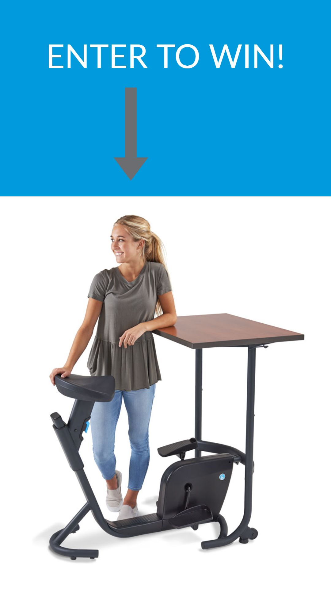 Enter To Win Our Unity Bike Desk Giveaway Entertowin Office