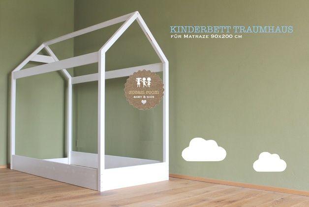 weiteres traumhaus xl kinderbett 90 x 200 cm ein. Black Bedroom Furniture Sets. Home Design Ideas