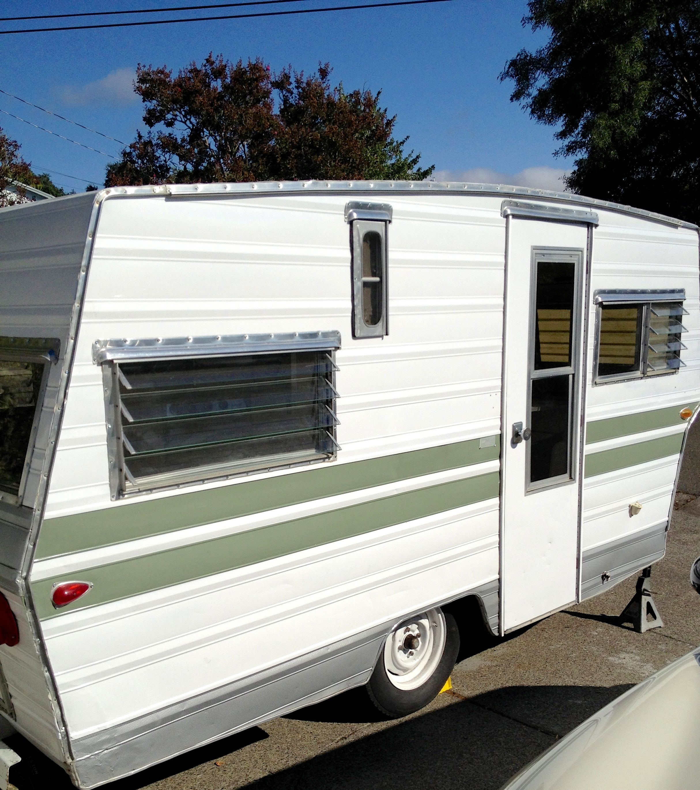 Travel Trailers With Outdoor Kitchens: Vintage 1967 Aristocrat Trailer. Mine! :)