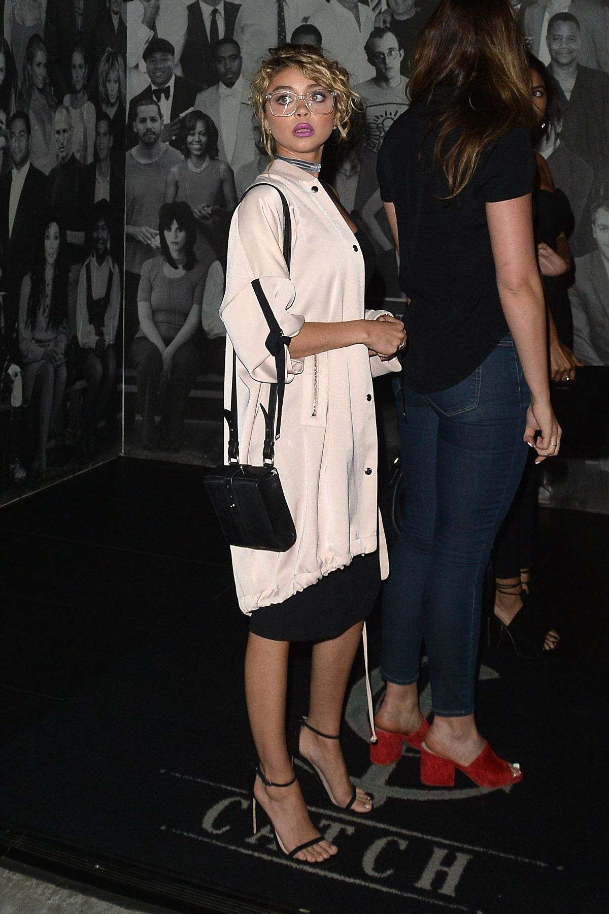 Sarah Hyland Out For Dinner In West Hollywood | Beauty | Pinterest ...