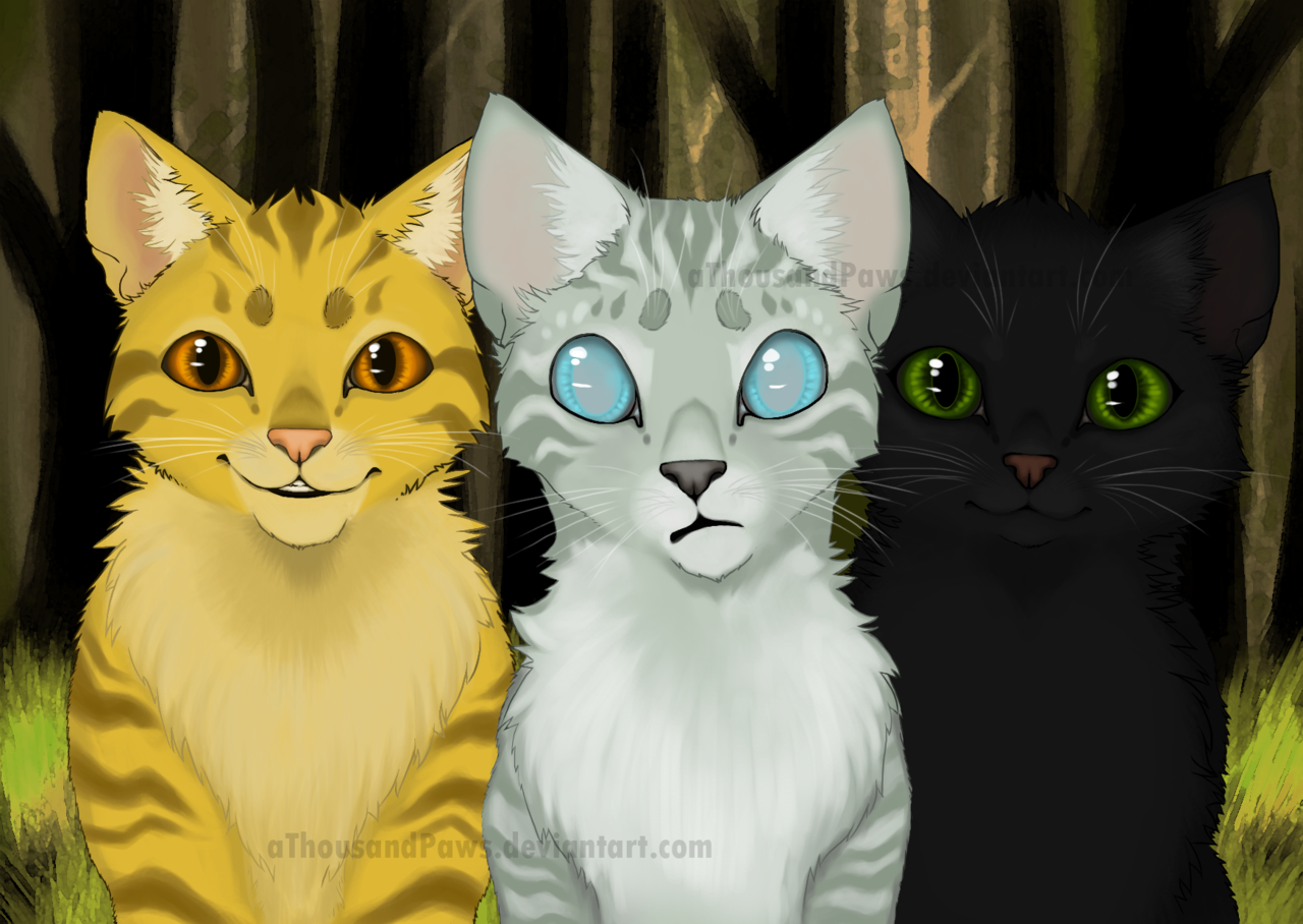 The Power of Three by aThousandPaws.deviantart.com on