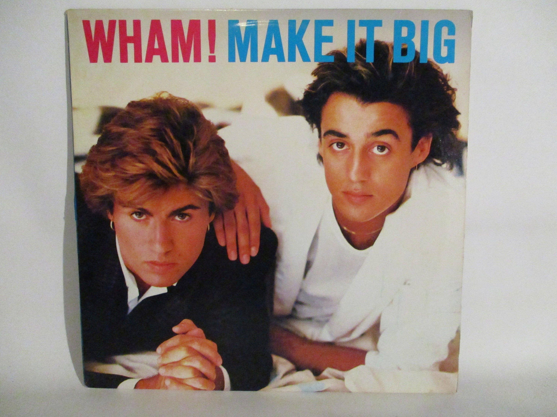Wham Make It Big Vinyl Record With Original Inner Sleeve Vinyl Records Vinyl Sales Vinyl Music