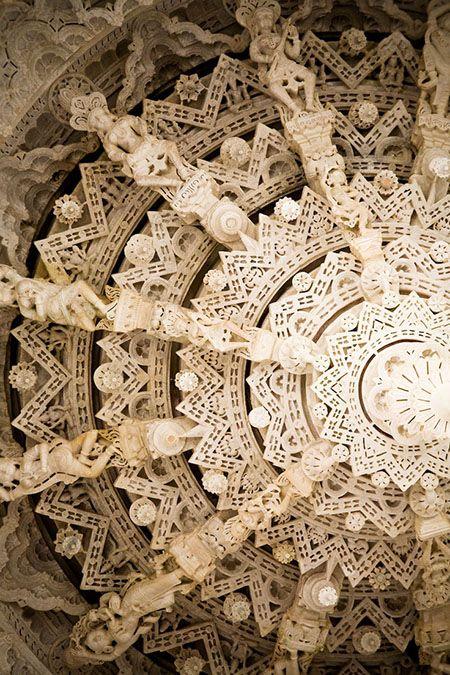 Details, details...Adinatha Temple, Ranakpur, India, photo by Fabian, fabian-f via Flickr.