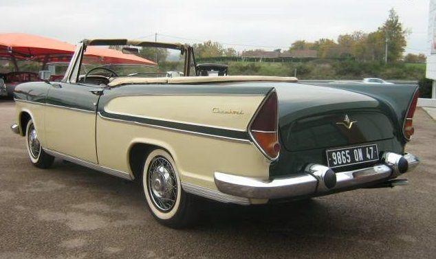 1958 Simca Chambord cabriolet