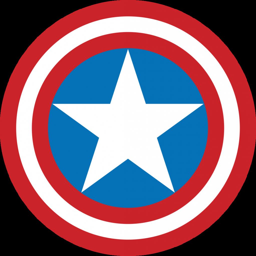 Capitão América Logo PNG Capitão america, Simbolo dos