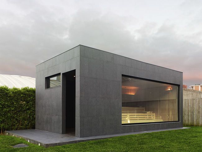 Outdoor Sauna DiseÑo Freixanet Saunasport | Sauna & Co | Pinterest ... Schlichtes Sauna Design Holz Seeblick