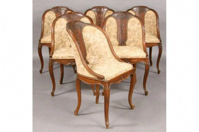 set six antique french barrel back dining chairs c 1900 for sale rh pinterest com Barrel Chair Set Dining Room Periwinkle Blue Dining Chairs