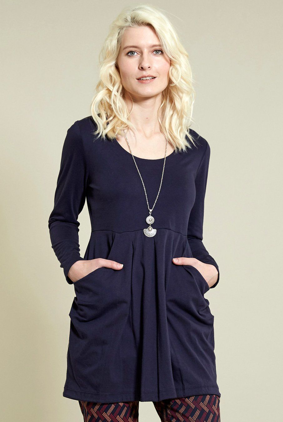 3bb7abc875598 Slouch Tunic Top - Nomads Clothing