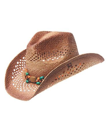 Peter Grimm New Aztec Multi-Colored Western Cowboy HAT