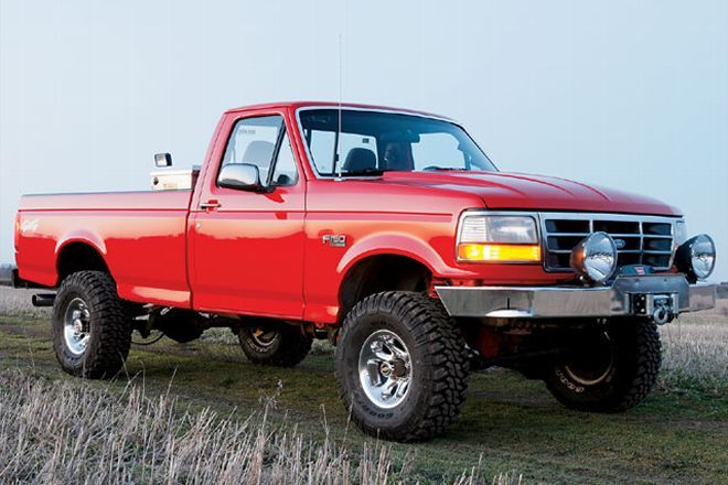 Not A Bronco But I Like The Vermillion Red Paint Job