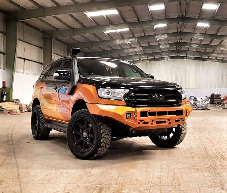 This Modified Ford Endeavour Is The Raw Suv You Always Wanted