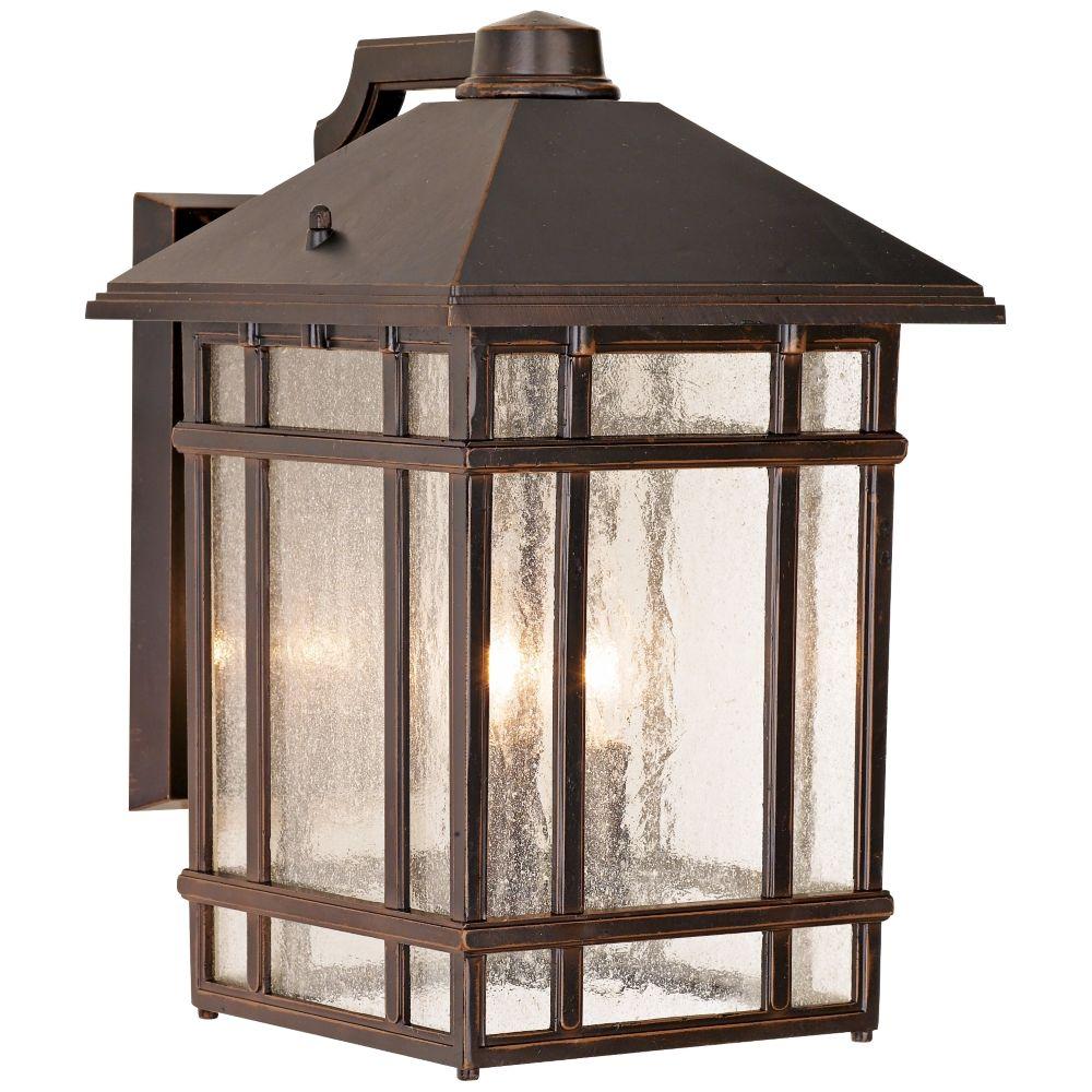 J Du J Sierra Craftsman 15 High Bronze Outdoor Wall Light 25355 Lamps Plus Outdoor Wall Lighting Porch Lighting Wall Lighting Design