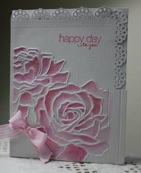 WT397, HYCCT1217 Crayon roses by Holstein - Cards and Paper Crafts at Splitcoaststampers