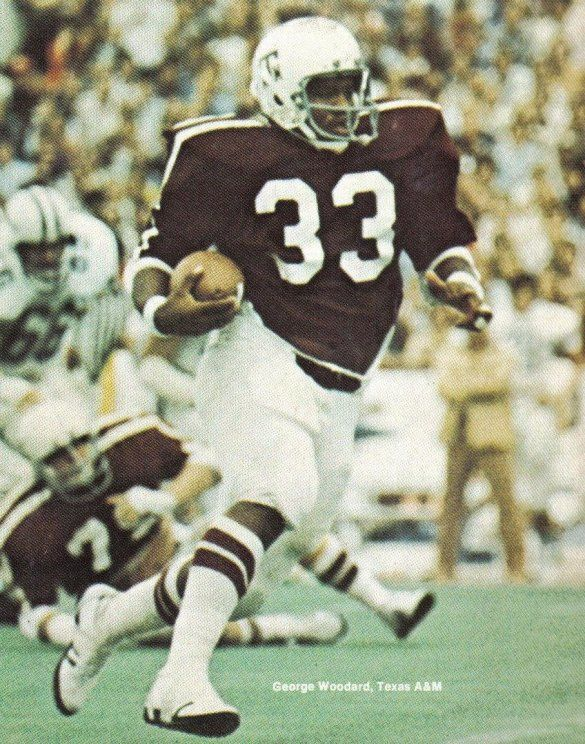 Fullback George Woodard Texas A M George Woodard Texas A M Football Aggie Football Texas A M