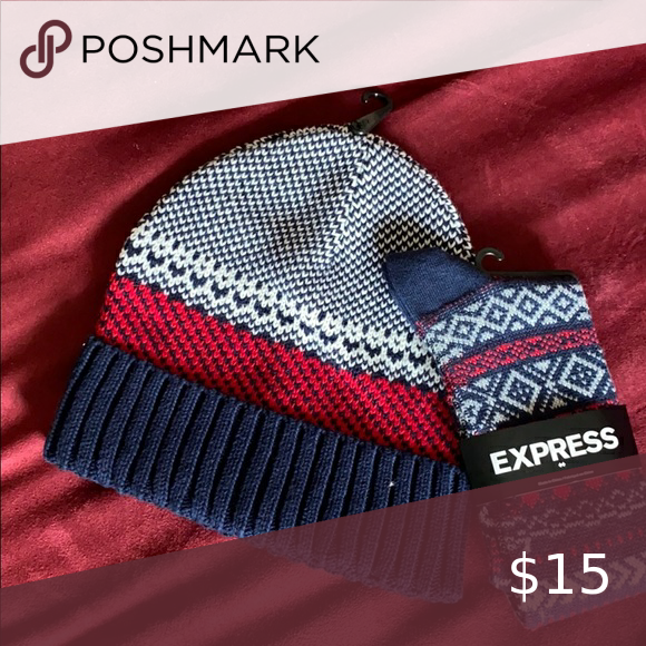 Express hat and socks.