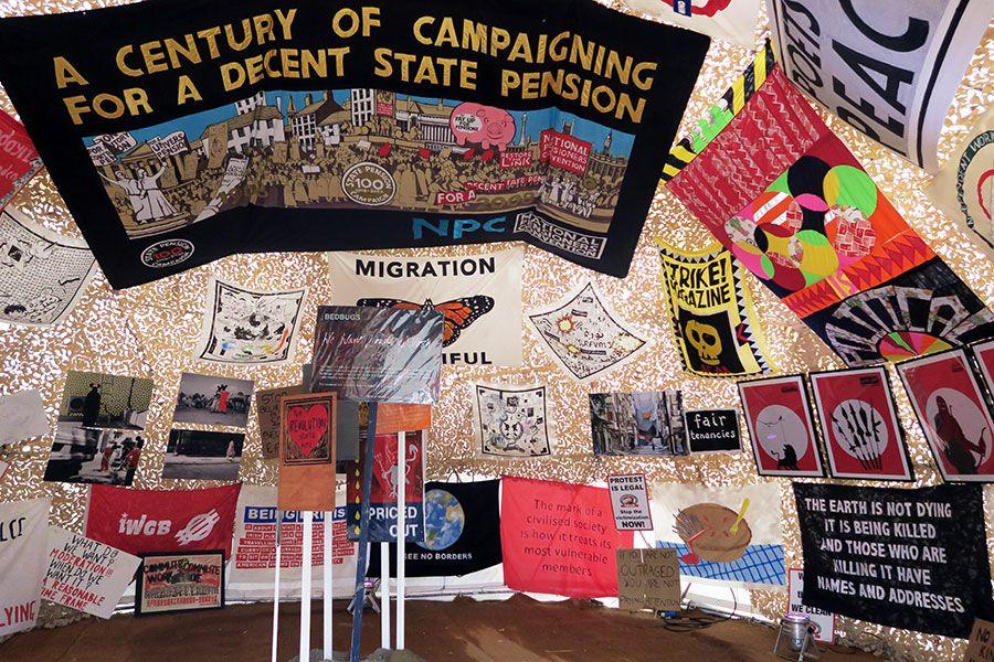 "Juxtapoz Magazine - Preview: Inside Banksy's ""Dismaland"" @ Tropicana, Weston-super-Mare"