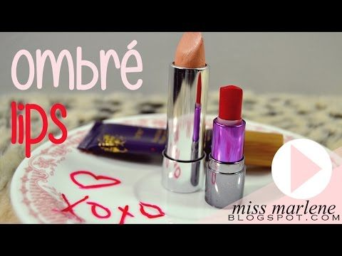 Ombré Lips - YouTube | Ombre lips, Lips, Ombre