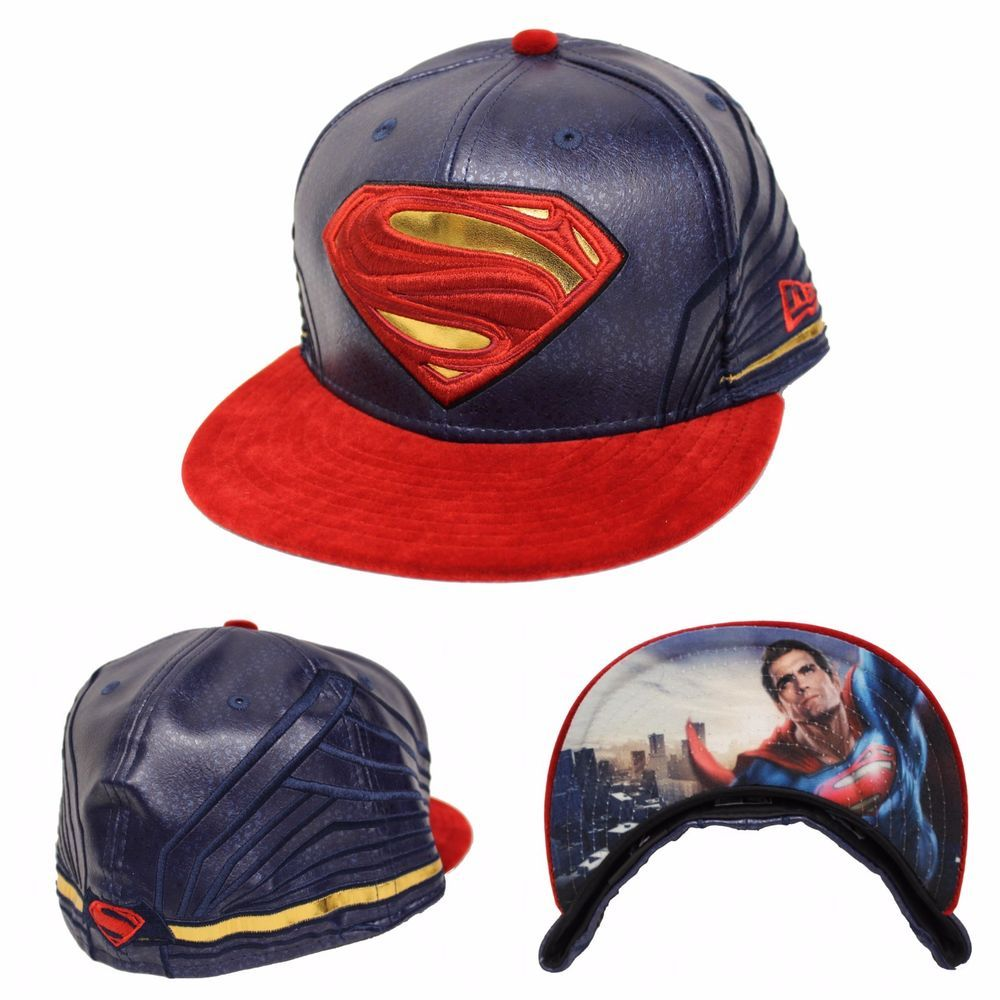 b228eddbf5b New Era 59Fifty Character Armor Fitted Hat Batman V Superman BVS Dawn Of  Justice  NewEra  BaseballCap