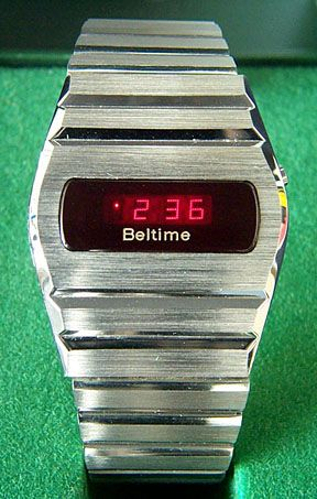 Beltime Led Watch 3 With Images Led Watch Led Watches