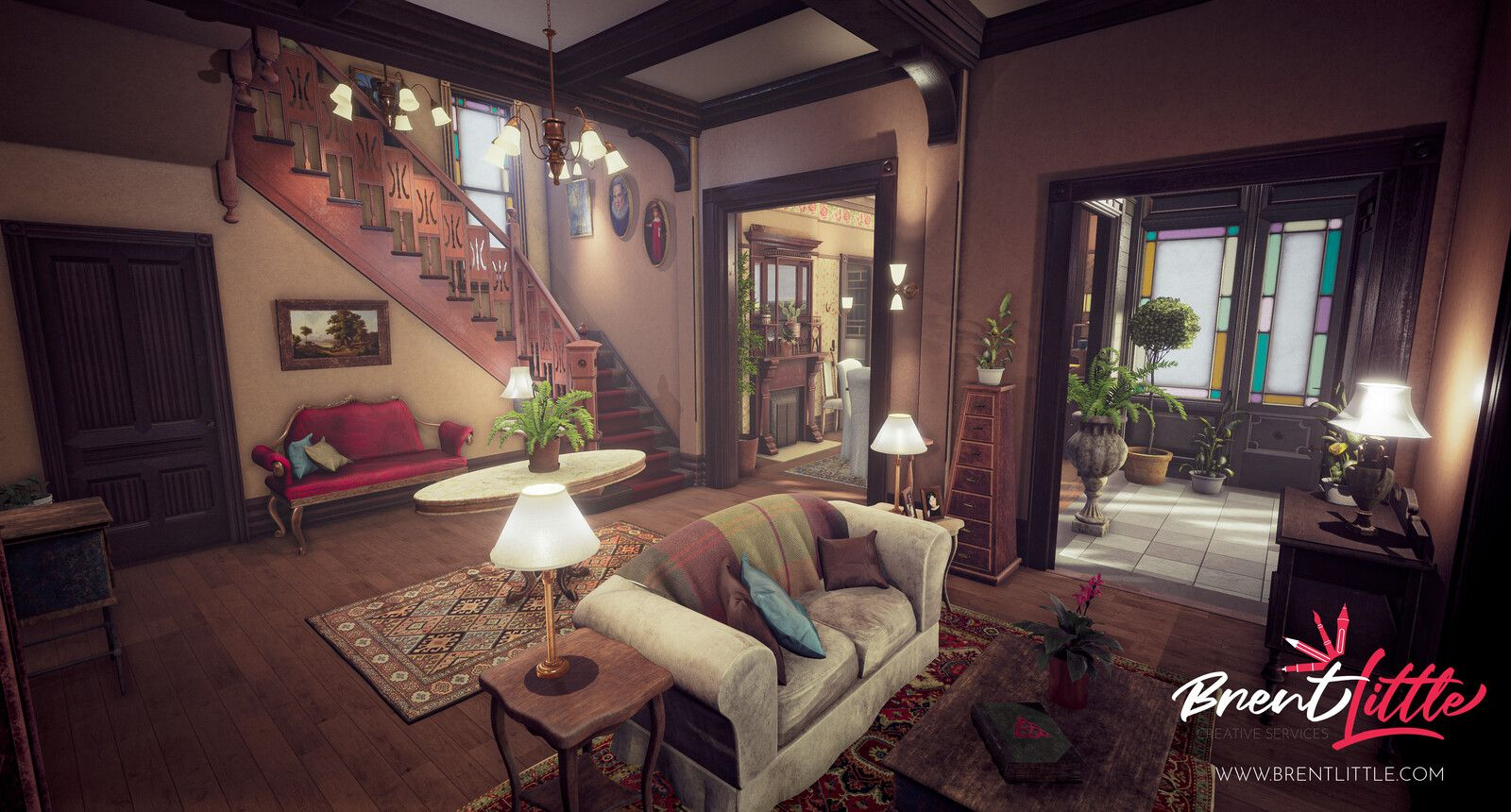 Halliwell Manor from Charmed Unreal Engine 4 Brent Little