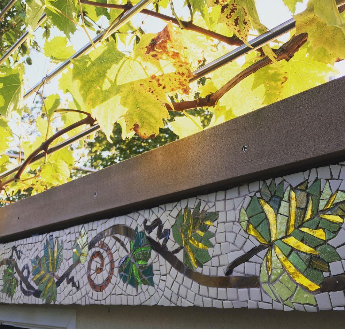 Pin by Charlotte Grace on mosaic wall art | Pinterest | Mosaics ...
