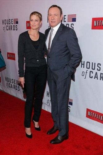 New series on Netflix - House of Cards - Kevin Spacey and Robin Wright
