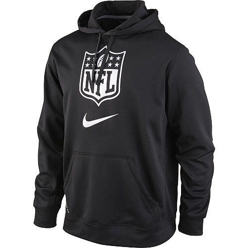 Mens Nike NFL Shield KO Hooded Sweatshirt  273d8aee5