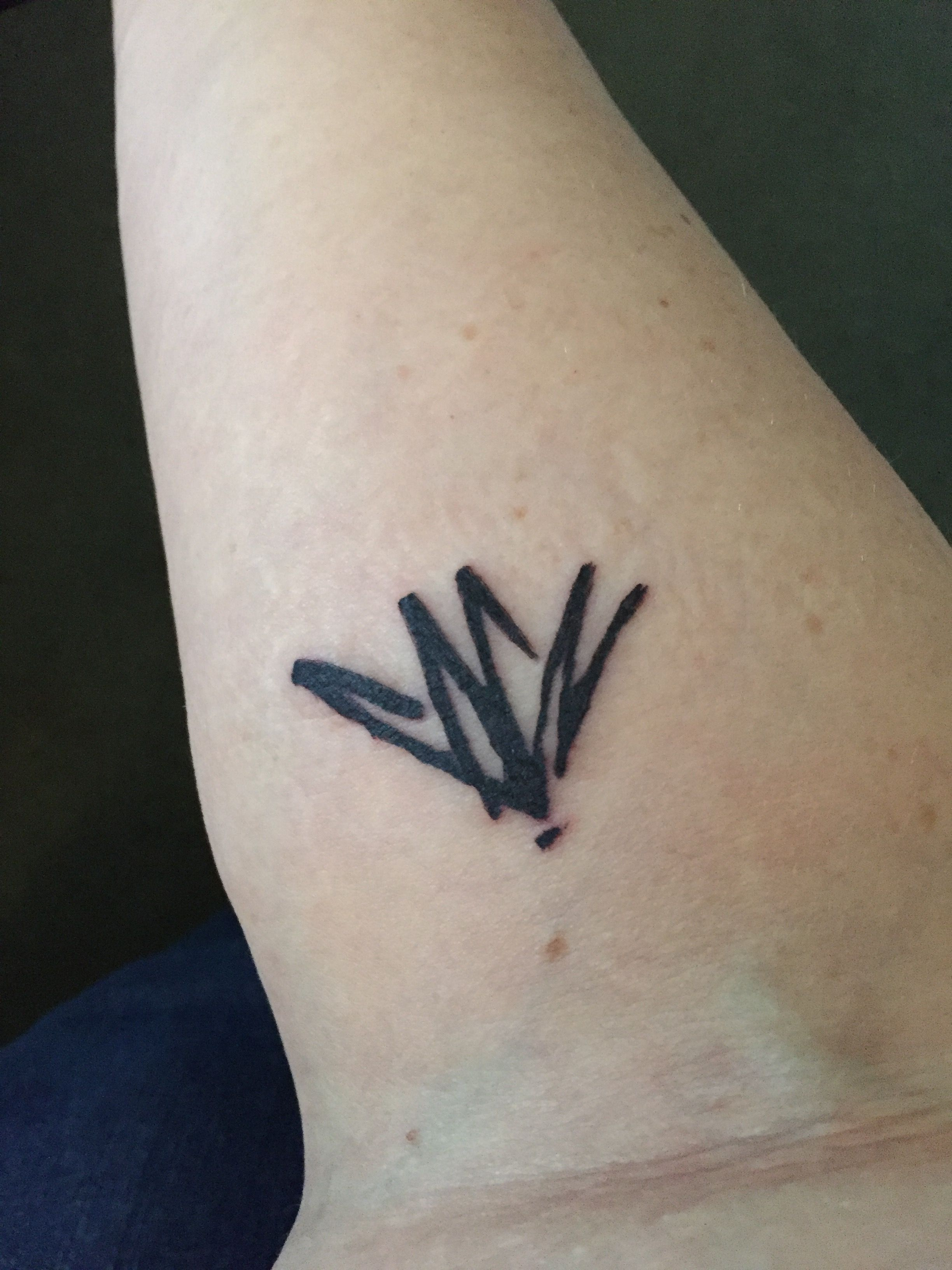 Gallery images and information soundgarden badmotorfinger tattoo - My Very First Tattoo Chris Cornell S Signature A Fitting Tribute To A Musician