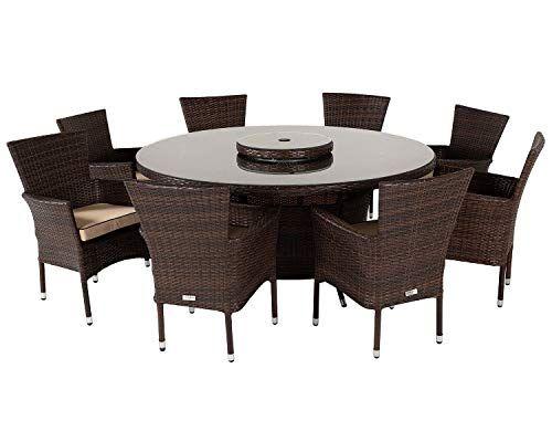 Rattan Outdoor Furniture Indoor Conservatory Cambridge 8 Seater