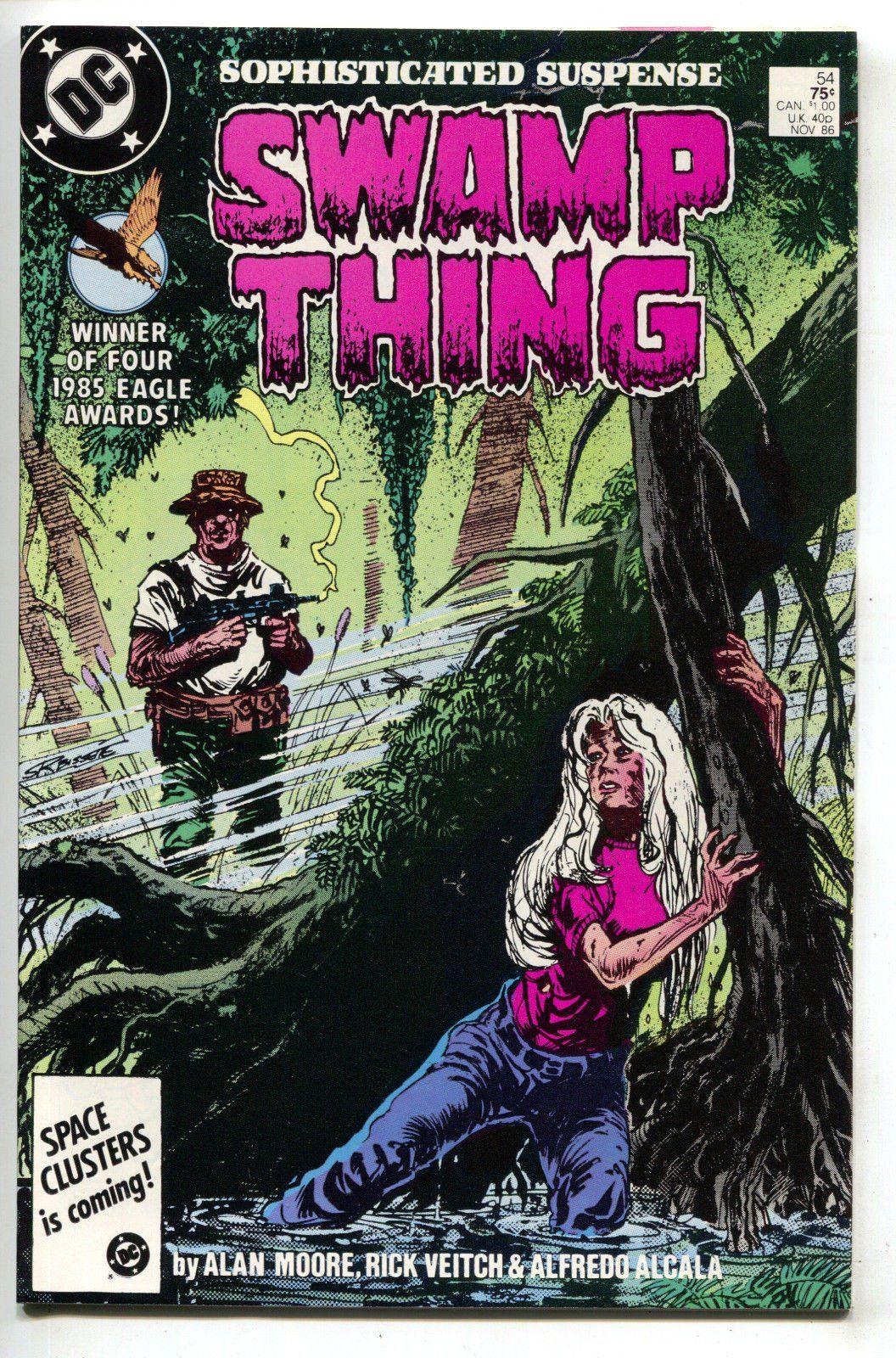 Swamp Thing Bissette Moore Veitch Alcala Totleben #59 DC Comics April 1987 NM