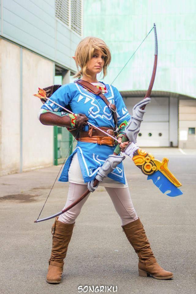 #Tatasenko Mana new Link 2015 crossplay in Paris Japan Expo 2014 | #Zelda #WiiU