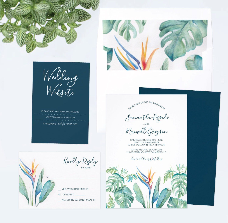 Printed Wedding Invitation Envelopes Wedding Website Card Rsvp