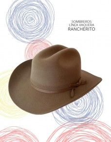 Línea Vaquero - Sombreros y Ponchos de Colombia  97a7dd83efa