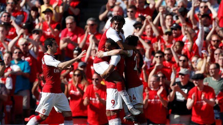 Arsenal 5 VS 0 Burnley Video Highlights Burnley, Arsenal
