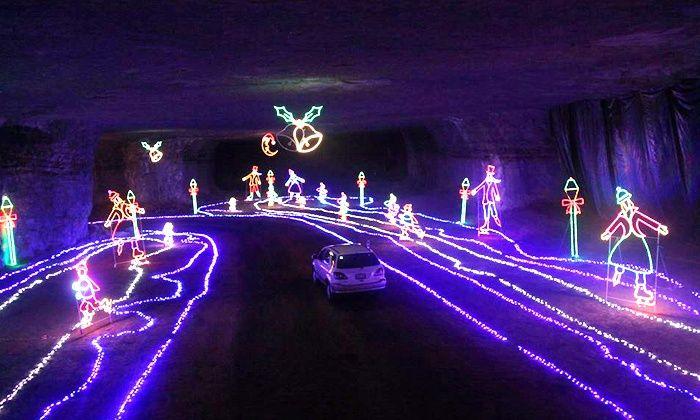Mega Cavern Christmas Lights.Louisville Mega Cavern Louisville Kentucky Christmas