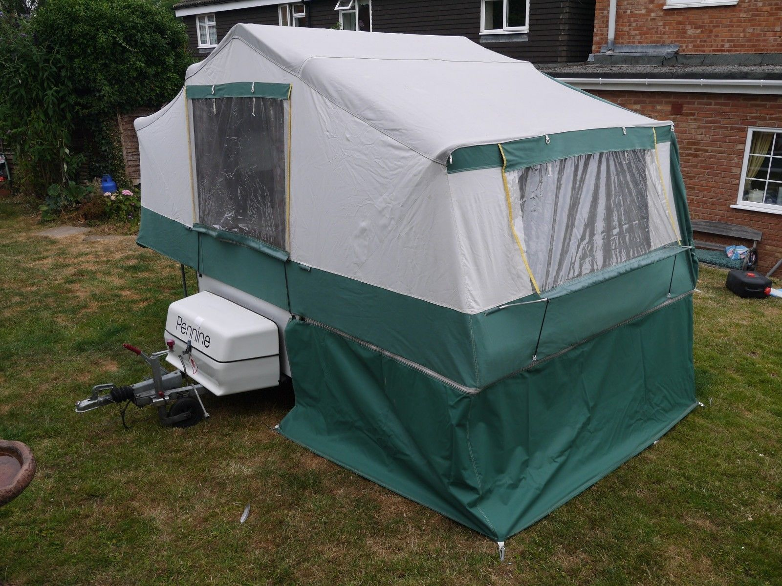 PENNINE AZTEC, SMALL COMPACT IDEAL FIRST FOLDING CAMPER 4 ...