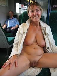Naked in public milfs
